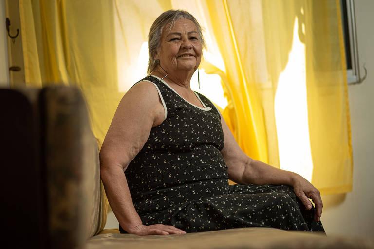 Angela Machado de Vasconcelos, a professora há mais tempo em atuação na rede estadual paulista