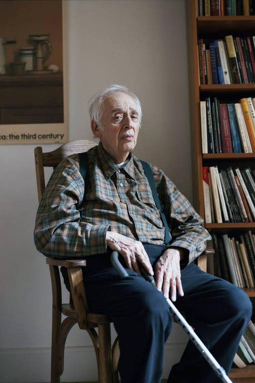 O crítico literário em Nova York, em foto de 2011