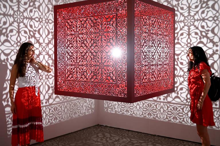 Feira de arte Expo Chicago, ocorrida entre os dias 19 e 22 de setembro