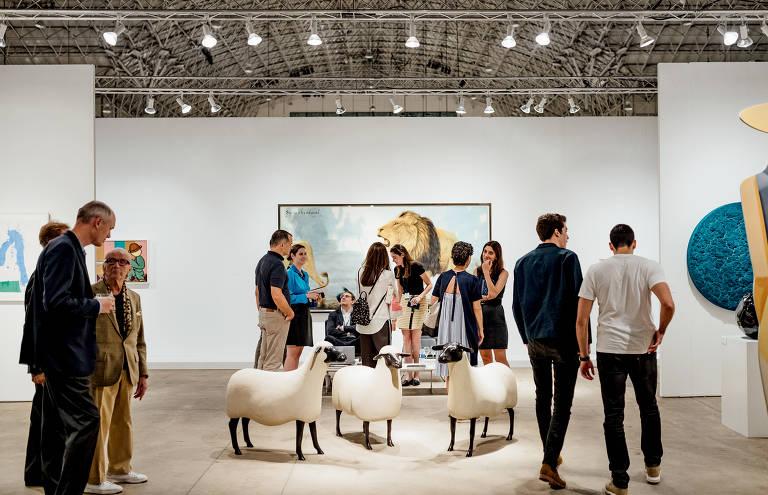 Veja imagens da feira de arte Expo Chicago