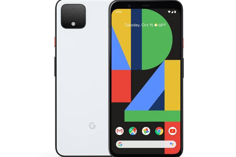 Reprodução novo celular do Google, o Pixel 4