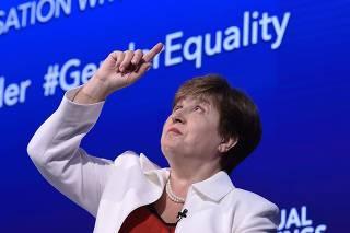 IMF Managing Director Kristalina Georgieva speaks on gender equality