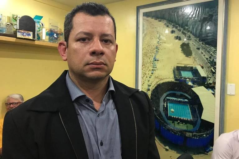 Luiz Fernando Coelho de Oliveira, policial militar e novo presidente da CBDA