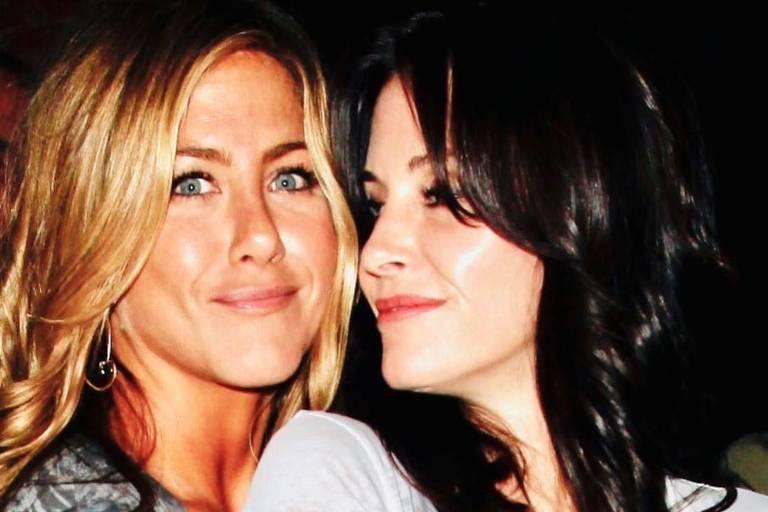 Jennifer Aniston e Courteney Cox