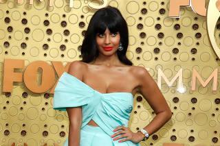 71st Primetime Emmy Awards - Arrivals ? Los Angeles, California, U.S., September 22, 2019 - Jameela Jamil