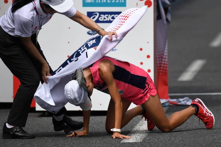 COI demora para apontar riscos de maratona em Tóquio