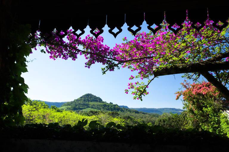 Pousada La Hacienda, que fica na região da Serra Grande, em Gramado