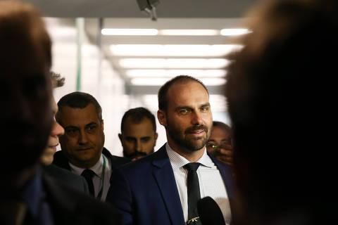 PSL tem guerra de listas após Bolsonaro atuar para Eduardo ser líder na Câmara