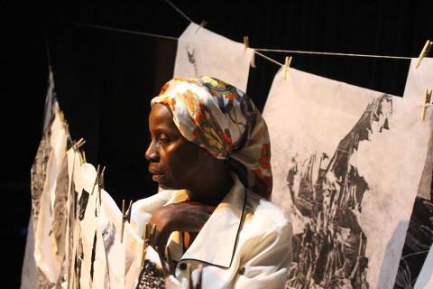 Peça do 1º Festival de Teatro Negro de São Paulo
