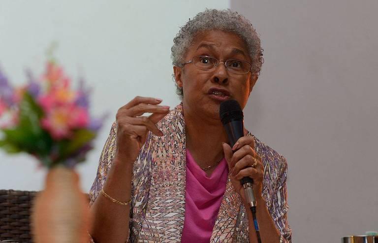 Veja imagens de Patricia Hill Collins, que participou de conferência em São Paulo