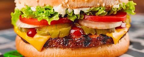 Rebel Whopper, novo sanduíche vegano do Burger King ORG XMIT: wST-Jpp6YoD52iPVenQ9