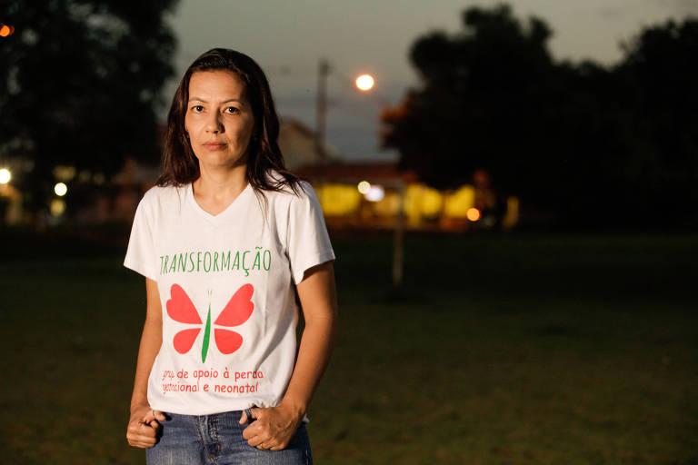 A nutricionista Marina Cardoso, 37, foi impedida de doar leite materno após a morte do filho