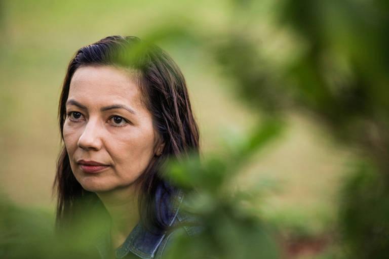 Marina Cardoso de Oliveira,37, nutricionista, que foi impedida de doar leite materno após a morte do filho Guilherme