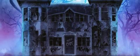 Castelo do horror na Horror Expo