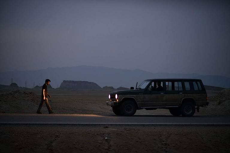 Cena do filme iraniano 'Sem Túmulo'