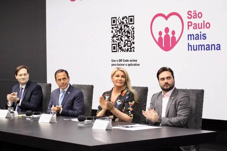 """Governador do Estado de São Paulo, João Doria em Lançamento do aplicativo """"São Paulo Mais Humana"""""""