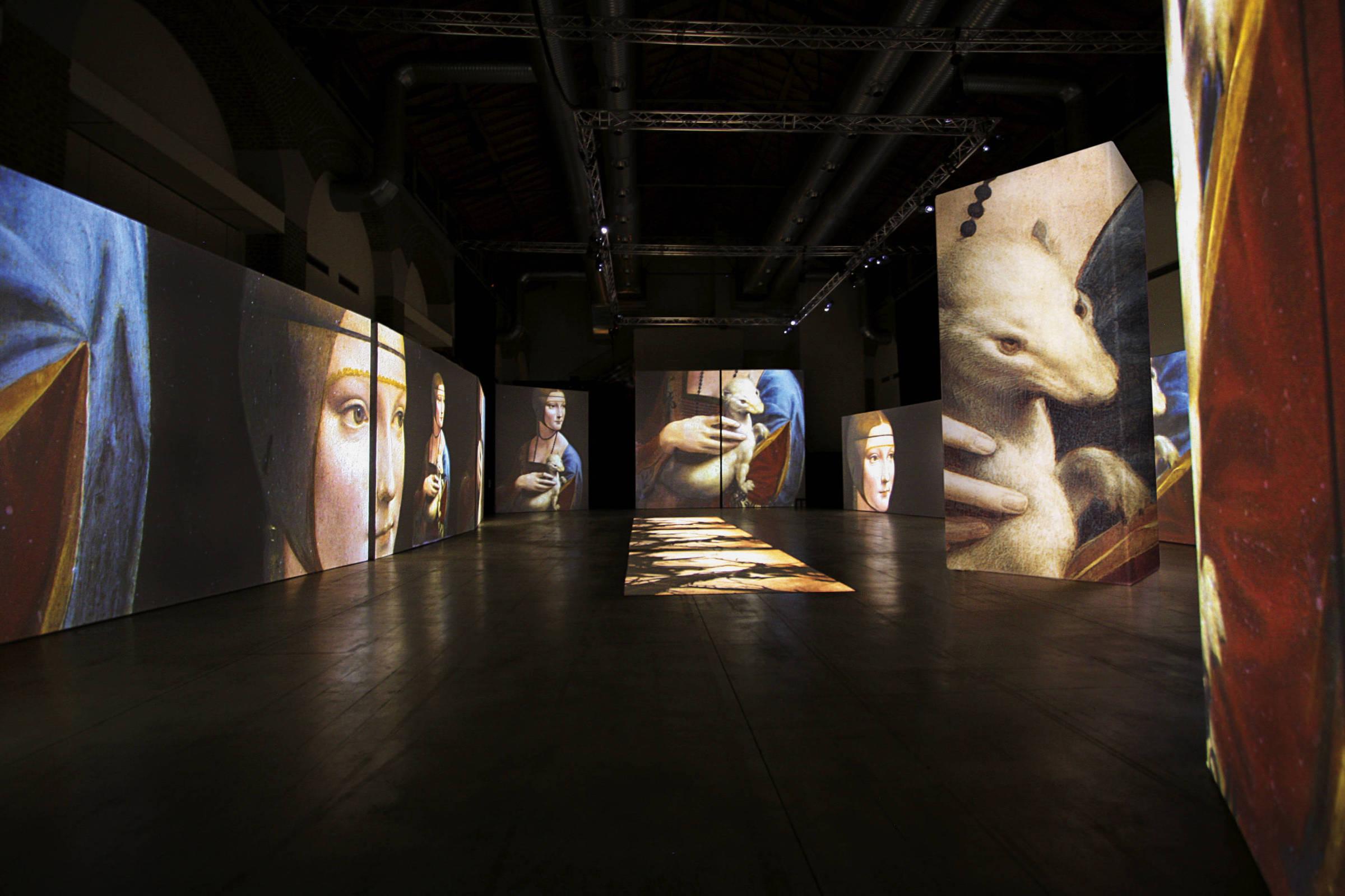 Novo MIS inicia venda de ingressos para mostra imersiva de Leonardo da Vinci