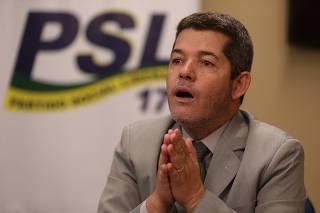 PSL / CRISE / CAMARA / LIDERANCA / DELEGADO WALDIR / BOLSONARO