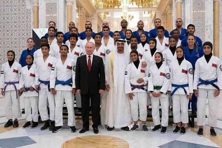 Jiu-jítsu brasileiro nos Emirados Árabes Unidos