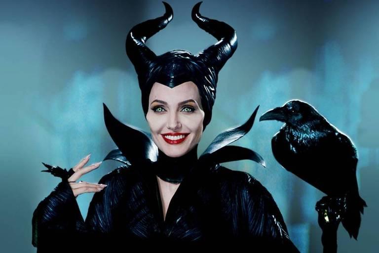 """Angelina Jolie diz que """"Malévola"""" é seu alter ego"""