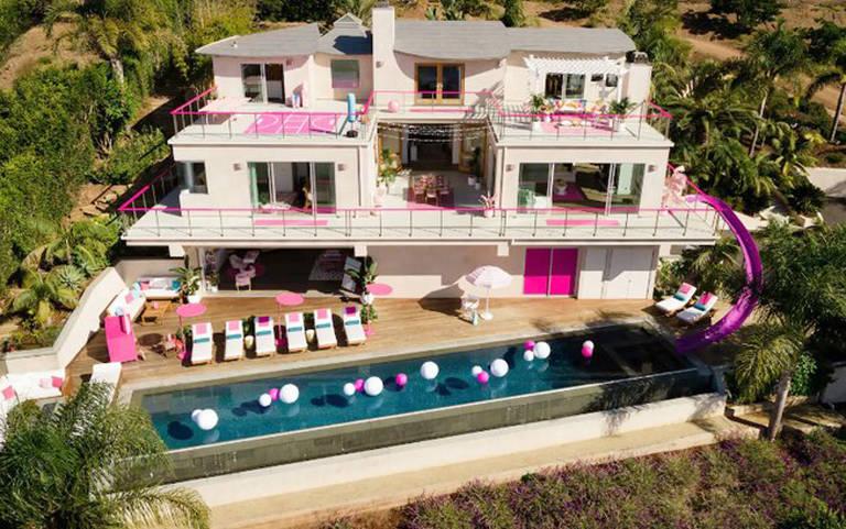 Casa da Barbie em Malibu pode ser alugada por R$ 250,00