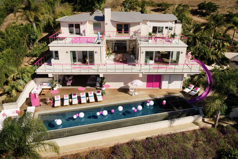 A Casa da Barbie fica no coração de Malibu, em Los Angeles