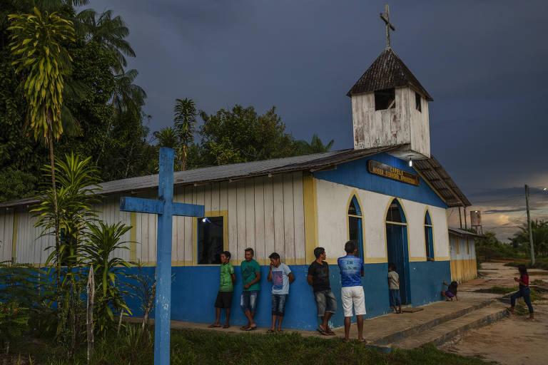 No Amazonas, missão salesiana se transforma em 'cidade dos índios'