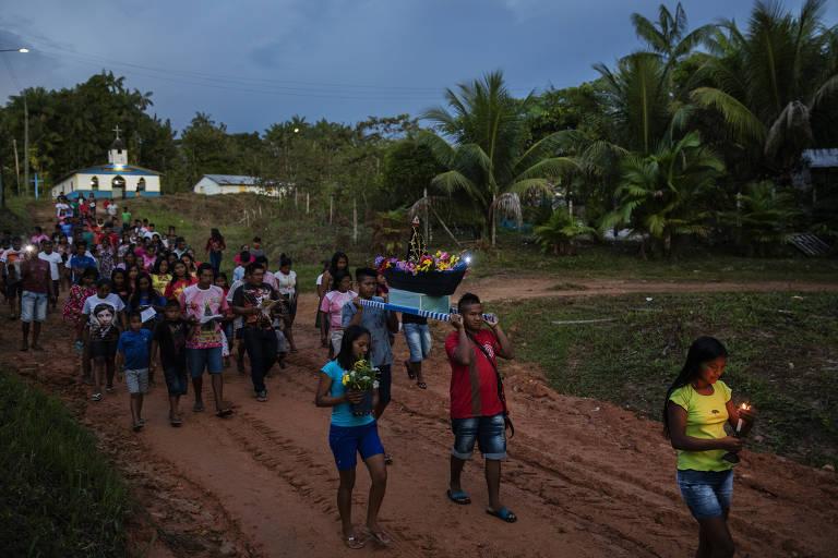 Missão salesiana no AM se transforma em 'Cidade dos Índios'