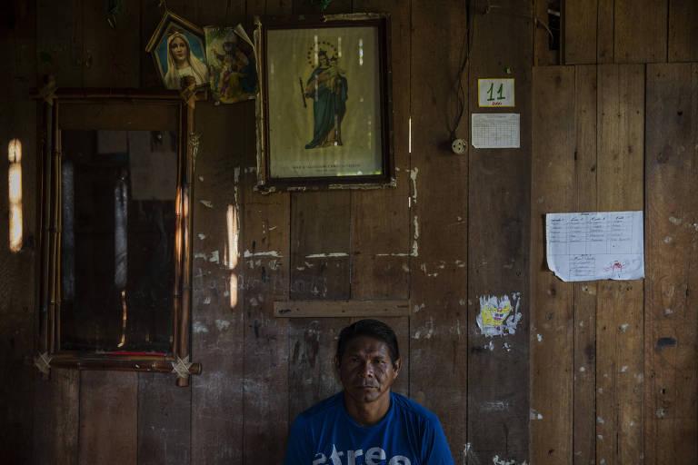 Católico, o indígena Jaciel Freitas, da Coordenadoria das Organizações Indígenas do Distrito de Iauaretê, espera uma autocrítica da igreja sobre suas ações no passado na comunidade