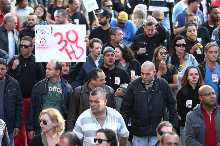 Protesto de funcionários