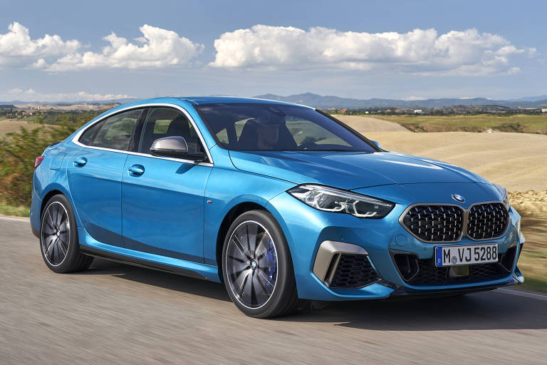 BMW mostra cupê de quatro portas compacto