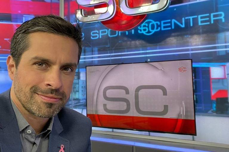 Luciano Amaral virou apresentador do SportsCenter, da ESPN