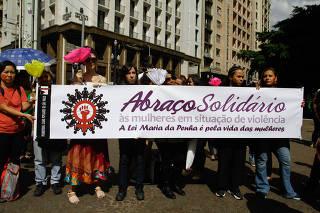 Abraço Solidário às Mulheres em Situação de Violência em SP