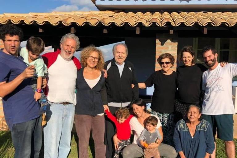 José Slinger e família