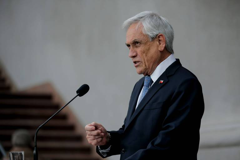 O presidente do Chile, Sebastian Piñera, que recuou e cancelou o aumento da tarifa do metrô