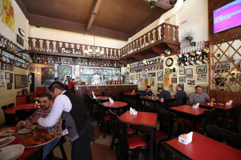 Bar Léo e Elídio continuam de portas abertas