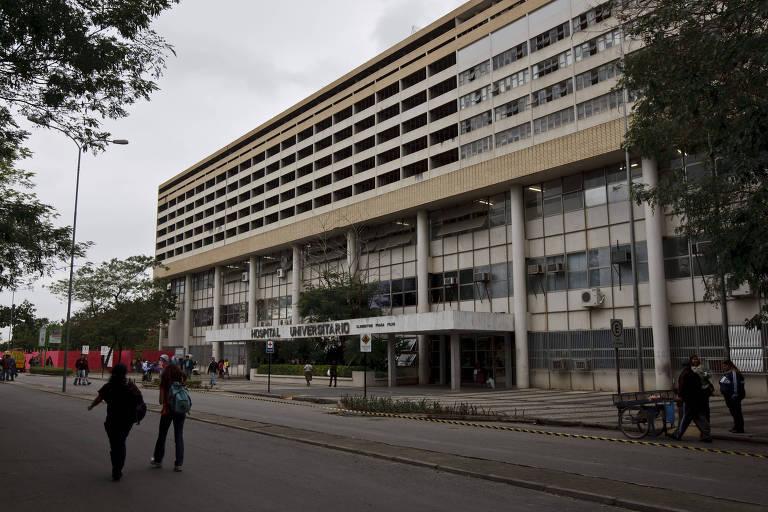 Facahad do Hospital Universitário Clementino Fraga Filho, no Rio de Janeiro