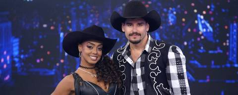 Dandara Mariana e Daniel no Dança dos Famosos