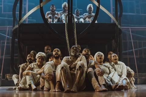 Cenas da peça ' Rua Azusa ', da Companhia Jeová Nissi. Credito: Divulgação