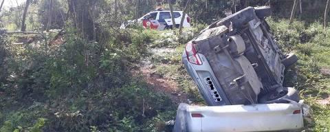 Dois idosos foram presos no mesmo dia em Suzano (Grande SP) acusados de envolvimento no roubo de um carro e na receptação de um veículo furtado. As detenções ocorreram na sexta-feira (18) em um intervalo de meia hora.   Credito:Divulgação/Polícia Militar