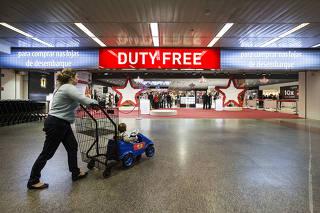 Inauguracao nova ala Duty Free