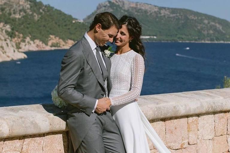 Rafael Nadal e Maria Francisca Perello se casam em Maiorca