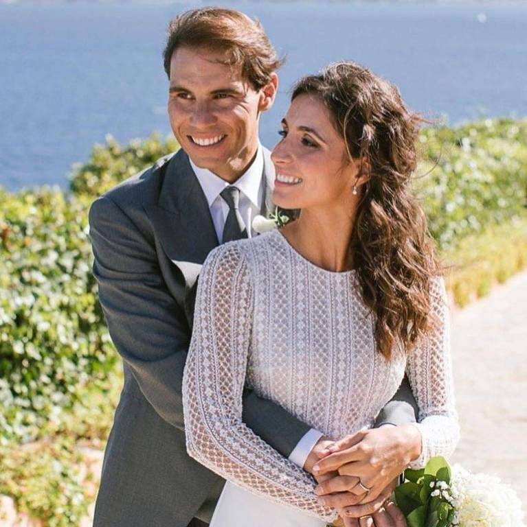 O tenista Rafael Nadal se casa com a espanhola Maria Francisca Perello