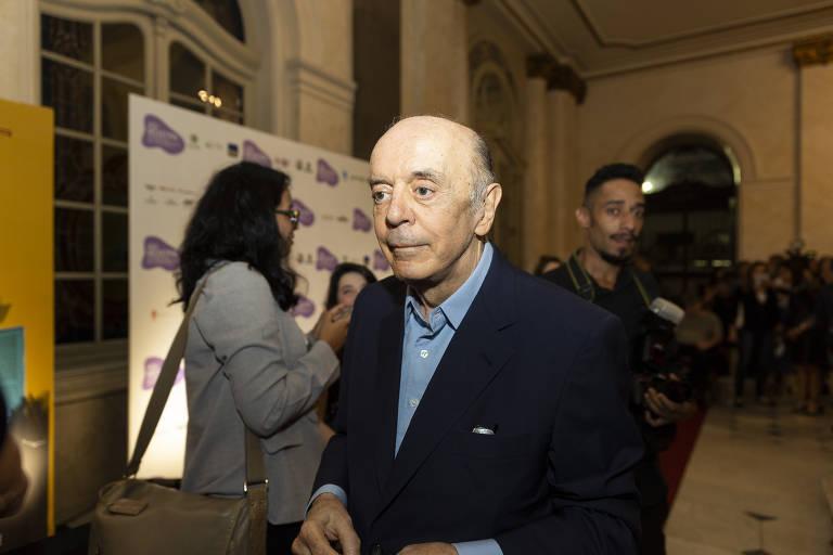 O senador José Serra (PSDB-SP) em evento, em São Paulo