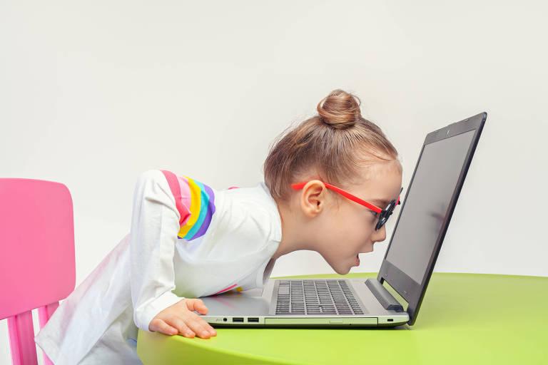 As crianças e o vício na internet