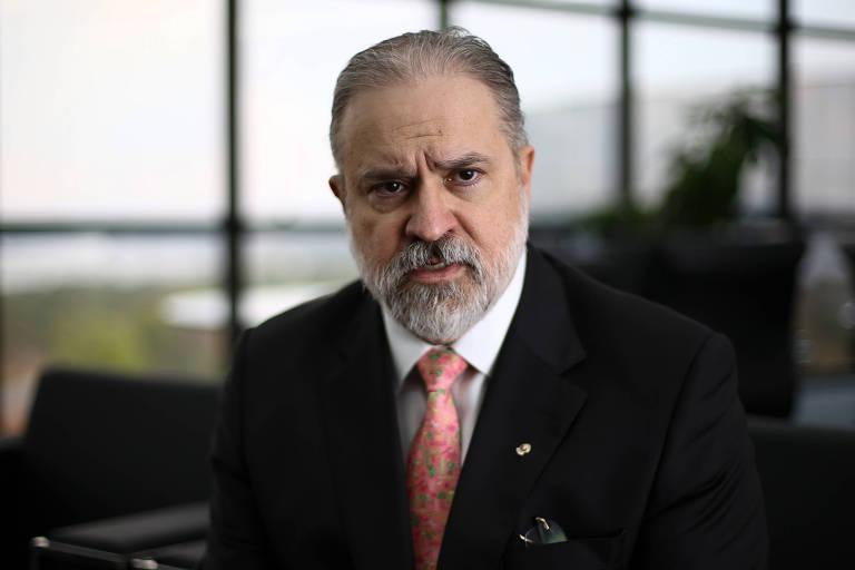 Augusto Aras, novo PGR (Procurador-geral da República), durante entrevista à Folha