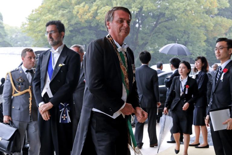 Bolsonaro na Ásia