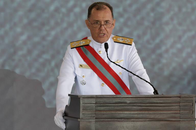 O comandante da Marinha, Ilques Barbosa Junior