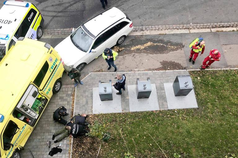 Homem rouba ambulância e atropela bebês gêmeos durante fuga na Noruega