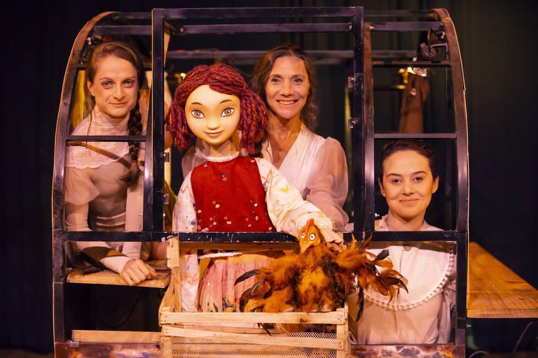 "Espetáculo infantil  ""Rosa Pequena, Vida de Circo"""